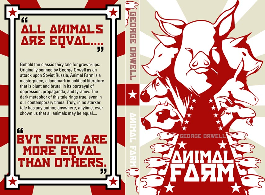propaganda in animal farm Propaganda plays a really important part in the russian revolution, and as a result propaganda was also one of the main themes in animal farm.